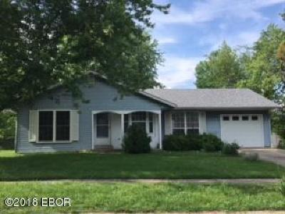 Carbondale Single Family Home Active Contingent: 1704 W Sunset Drive