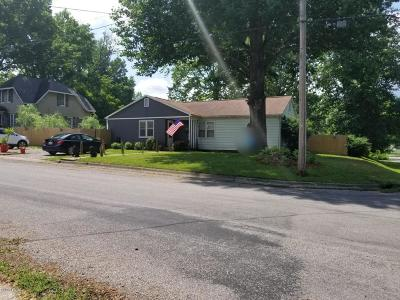 Murphysboro IL Single Family Home Active Contingent: $69,900
