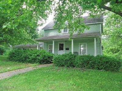 West Frankfort Single Family Home For Sale: 306 N Walnut Street