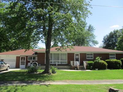 Benton Single Family Home For Sale: 406 W Fourth Street