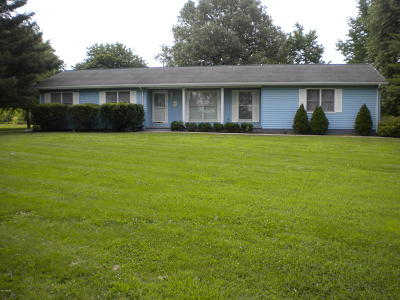 Eldorado IL Single Family Home For Sale: $129,500