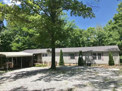 Carbondale Single Family Home For Sale: 4538 Giant City Road