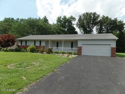 Marion IL Single Family Home Active Contingent: $137,500