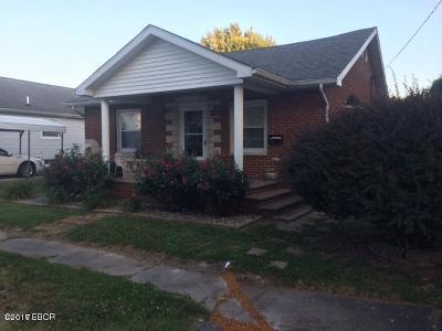 West Frankfort Single Family Home For Sale: 602 E Lindell Street