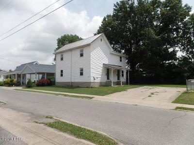 Marion IL Multi Family Home For Sale: $76,900