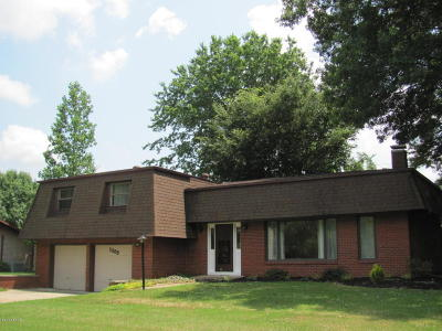 Carbondale Single Family Home For Sale: 1309 E Meadowbrook Lane