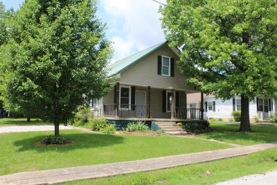 Johnston City Single Family Home Active Contingent: 1108 N Trout