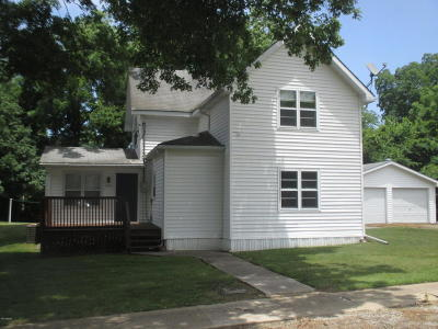 Dongola IL Single Family Home For Sale: $69,900