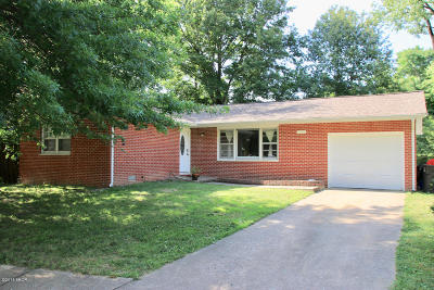 Carbondale Single Family Home For Sale: 1506 W Walnut