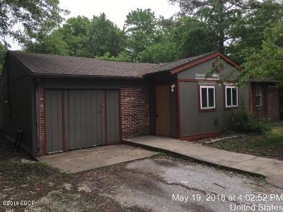 Carbondale IL Single Family Home For Sale: $33,900