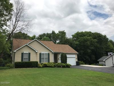 Murphysboro Single Family Home Active Contingent: 1523 W Lake Road