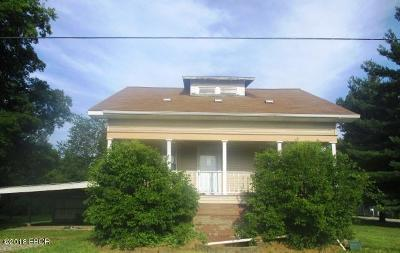 Harrisburg IL Single Family Home For Sale: $26,900