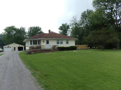West Frankfort Single Family Home For Sale: 1451 St. Hwy 37 South