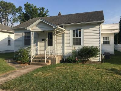 Murphysboro Single Family Home Active Contingent: 1923 Clarke St Street