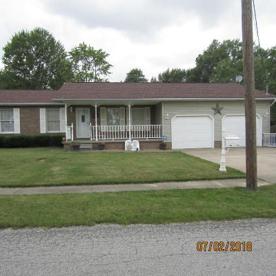 Harrisburg IL Single Family Home For Sale: $114,900