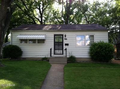Carbondale Single Family Home For Sale: 516 N Davis Street
