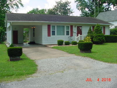 Murphysboro Single Family Home For Sale: 2315 Gartside Street