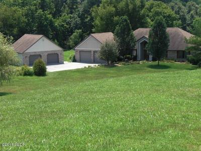 Murphysboro Single Family Home For Sale: 834 Hoffman Road