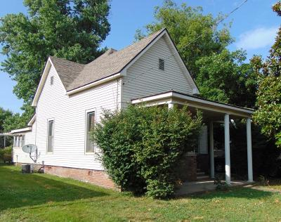 Marion IL Single Family Home For Sale: $59,000