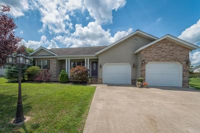Herrin IL Single Family Home Active Contingent: $159,900