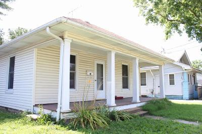 Murphysboro Single Family Home For Sale: 623 N 14th Street