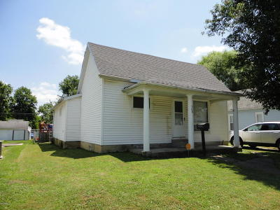 Herrin IL Single Family Home Active Contingent: $65,000