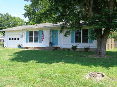 Johnston City IL Single Family Home For Sale: $72,500