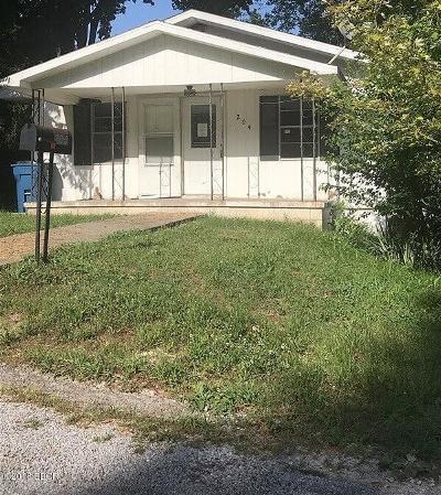 Jonesboro Single Family Home For Sale: 204 N J Street