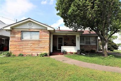 Metropolis IL Single Family Home For Sale: $72,500