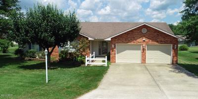 West Frankfort Single Family Home For Sale: 1403 Ryan Court