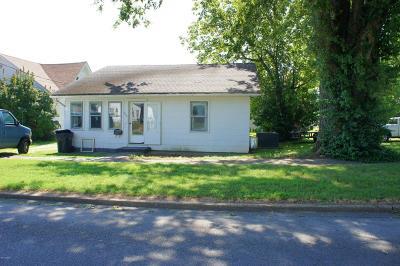 Massac County Single Family Home Active Contingent: 1018 Girard Street
