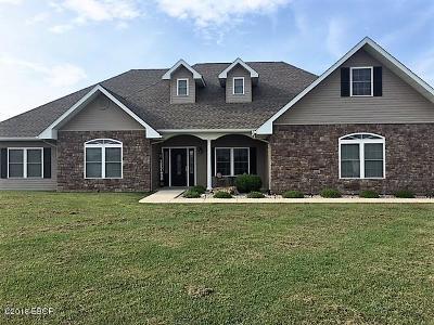 Murphysboro Single Family Home Active Contingent: 181 Hanover Lane