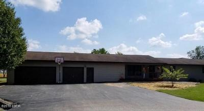 Elkville IL Single Family Home For Sale: $139,900