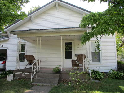 Benton Single Family Home For Sale: 223 Madison Street