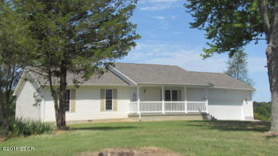 Saline County Single Family Home Active Contingent: 1745 Coffee Road