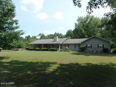 Marion Single Family Home For Sale: 15789 Corinth Road