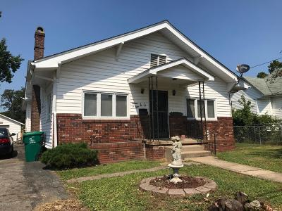 Johnston City Single Family Home For Sale: 1308 Jefferson Avenue