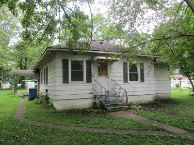 Benton Single Family Home For Sale: 805 N 8th Street