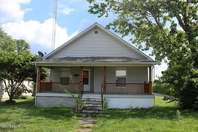 West Frankfort Single Family Home For Sale: 102 E 4th Street