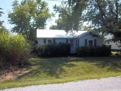 Galatia IL Single Family Home Active Contingent: $39,900