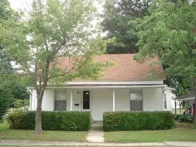 Johnston City Single Family Home For Sale: 801 Monroe Avenue