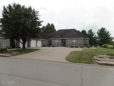 Marion Single Family Home For Sale: 608 Saluki Drive