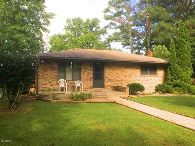 Murphysboro Single Family Home For Sale: 2229 Town Creek Road