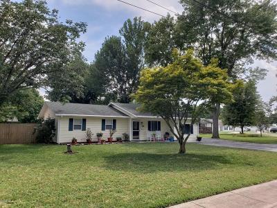 Murphysboro Single Family Home For Sale: 1625 Shomaker Drive