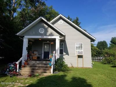 Herrin Single Family Home For Sale: 1113 S 12th Street