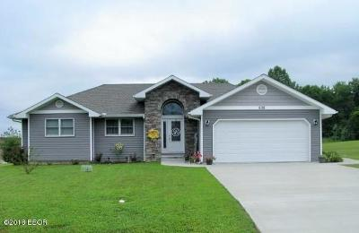 West Frankfort Single Family Home For Sale: 608 Westminister Drive