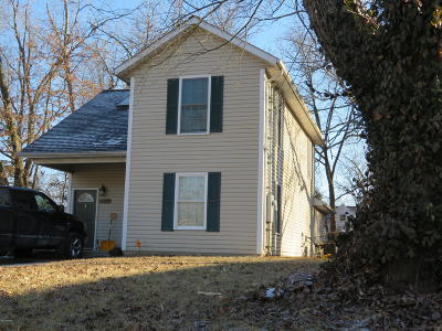 Carbondale Single Family Home For Sale: 1207 W Schwartz Street