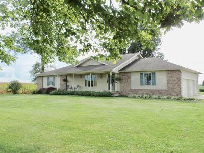 Marion Single Family Home Active Contingent: 13963 Pittsburg Road