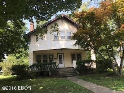 Carbondale Single Family Home For Sale: 402 N Springer Street