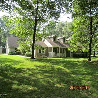 Carterville Single Family Home Active Contingent: 13687 Greenbriar Road